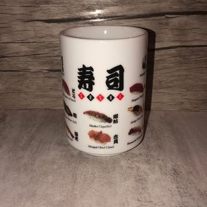 Other - Made in Japan SUSHI Themed Tea Sake Cup